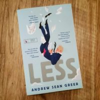 """Less"" by Andrew Sean Greer. (Carol Iaciofano for WBUR)"