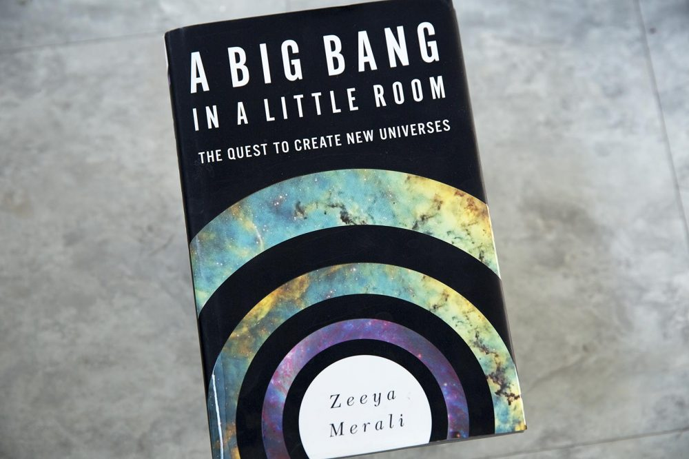 """A Big Bang In A Little Room,"" by Zeeya Merali. (Robin Lubbock/WBUR)"