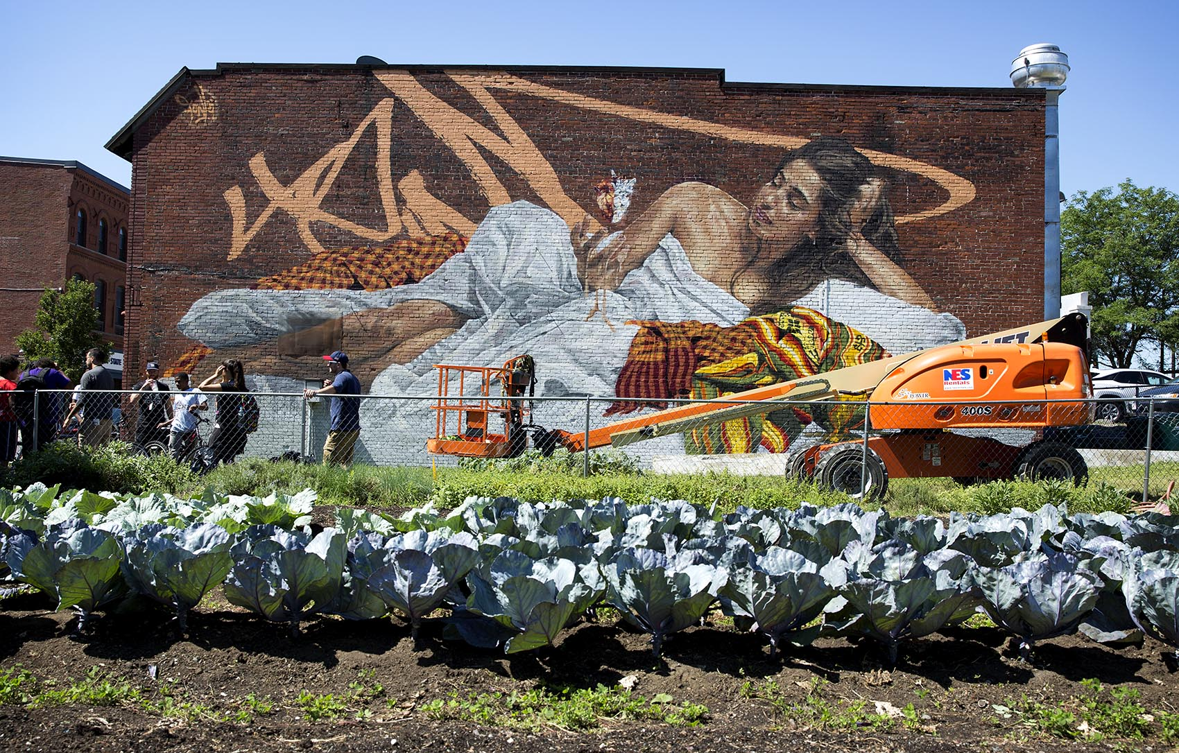 take a look at 15 new murals splashed on downtown lynn s brick fonki s mural