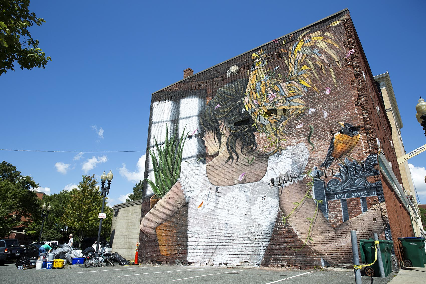 Take a look at 15 new murals splashed on downtown lynn 39 s for Construction mural