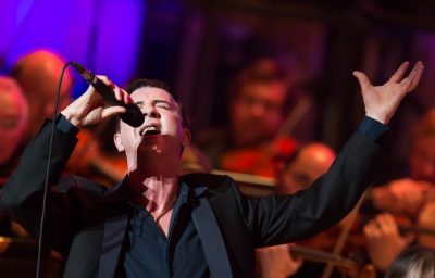 Marc Almond performs at the Royal Festival Hall on Oct. 3, 2013 in London, England. (Ian Gavan/Getty Images)
