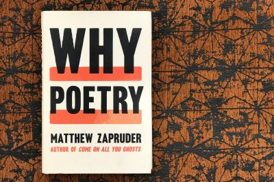 """Why Poetry,"" by Matthew Zapruder. (Jackson Mitchell/Here & Now)"