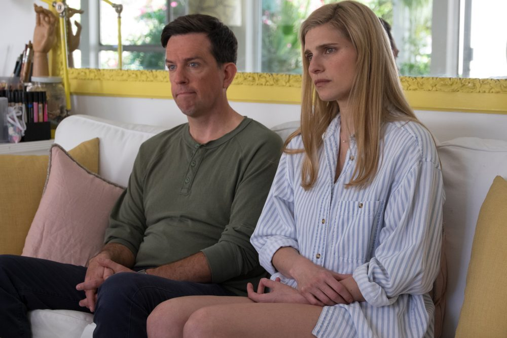 Ed Helms plays Noah, and Lake Bell doubles as Alice in her film. (Courtesy Merrick Morton)