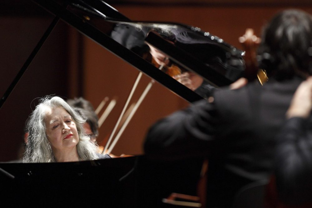 Martha Argerich performs in Rome in 2011. (Courtesy Musacchio & Ianniello/Celebrity Series)