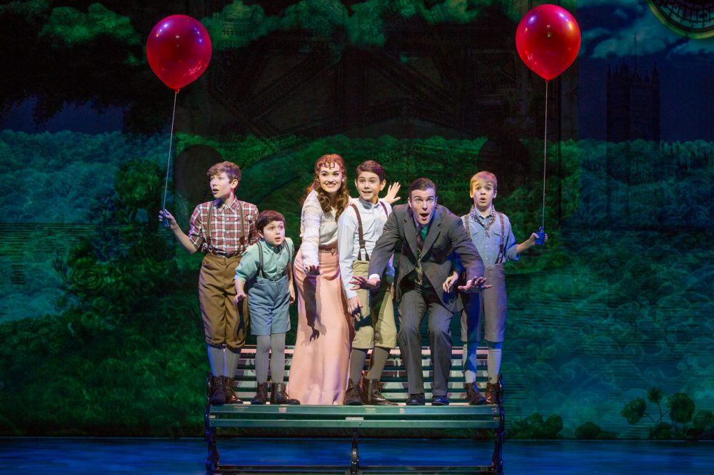 "The touring cast of ""Finding Neverland."" (Courtesy Jeremy Daniel)"