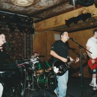 Mike Patton, middle, with his band The Robinsons at House of Blue New Orleans in 2002. Mike's written over 30 songs about baseball and he doesn't plan on stopping. (Courtesy Mike Patton)