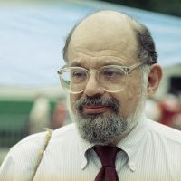 "American poet Allen Ginsberg in 1989. Part of the Beat Generation, he is best known for his 1956 poem ""Howl."" (AP)"
