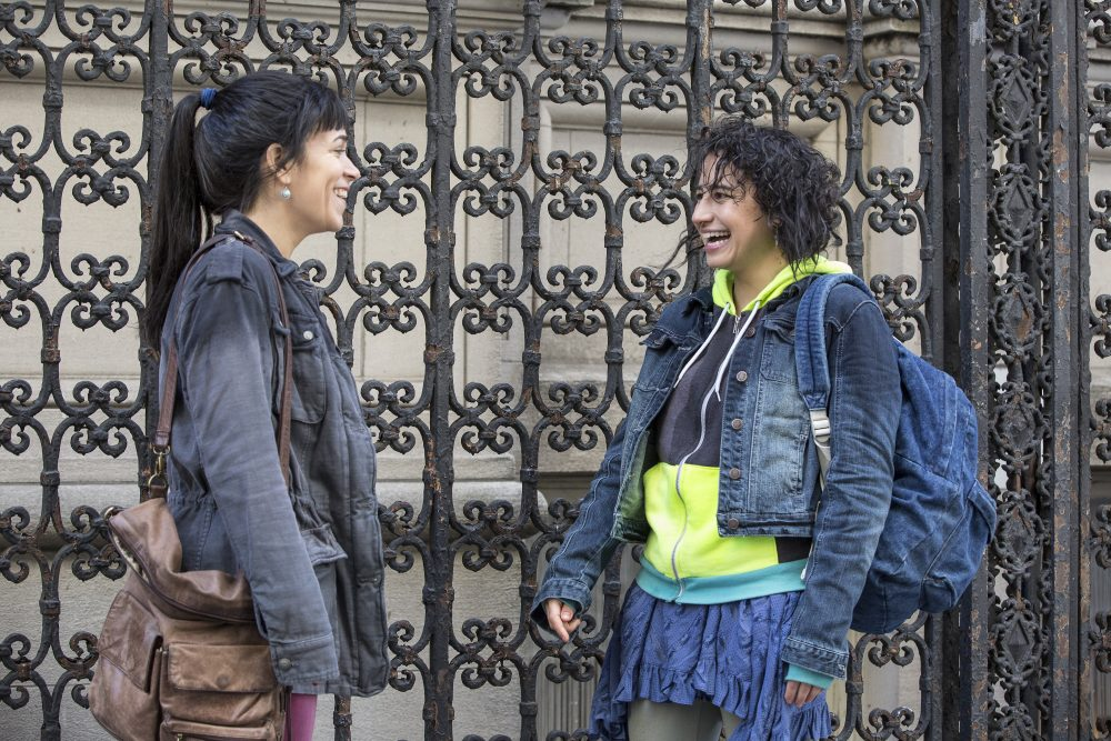 "Abbi Jacobson and Ilana Glazer in the ""Broad City"" fourth-season opener, ""Sliding Doors."" (Courtesy of Cara Howe for Comedy Central)"
