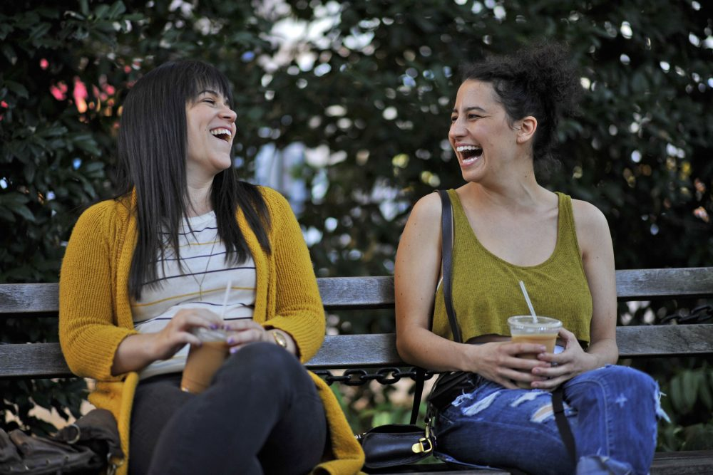 Abbi Jacobson and Ilana Glazer. (Courtesy of Walter Thompson)
