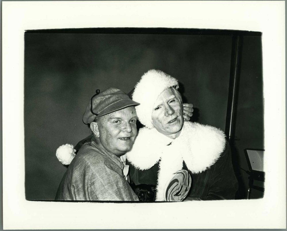 Truman Capote and Andy Warhol. (© The Andy Warhol Foundation for the Visual Arts, Inc.)