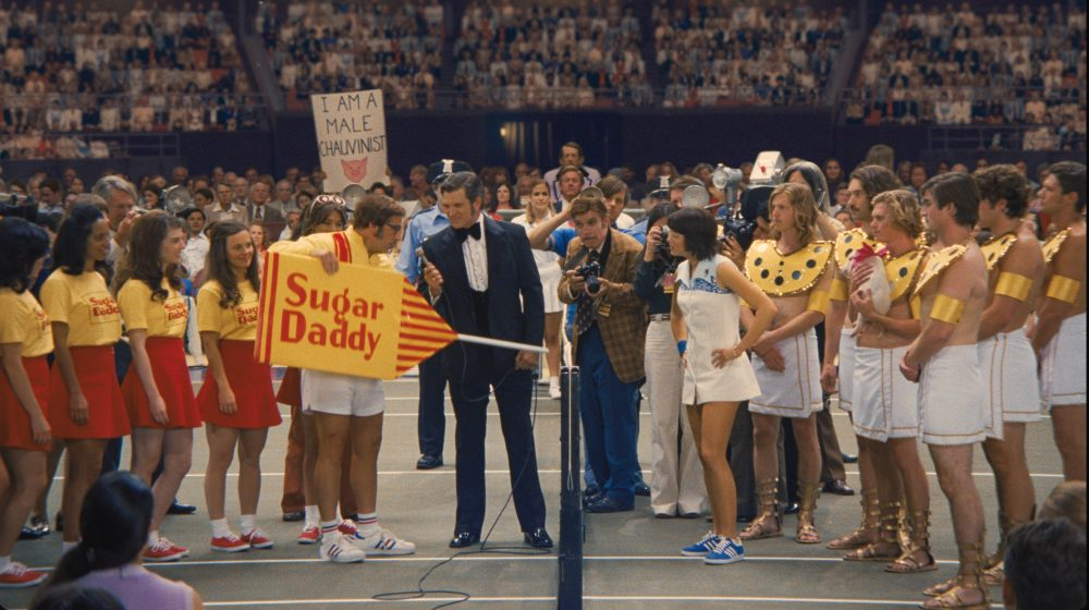 "A still from the film ""Battle of the Sexes."" (Courtesy Fox Searchlight Pictures)"