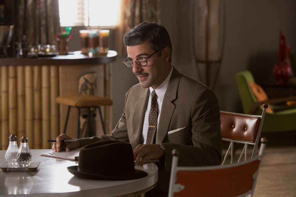 "Oscar Isaac as Bud Cooper in ""Suburbicon."" (Courtesy Paramount Pictures)"