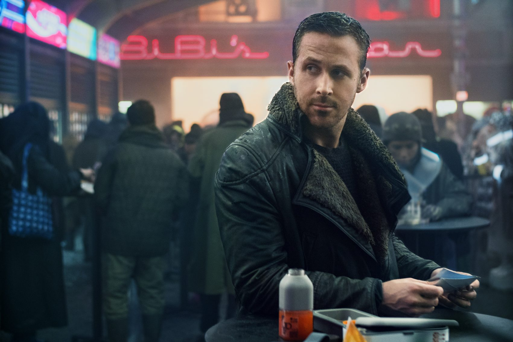 "Ryan Gosling as K in ""Blade Runner 2049."" (Courtesy Stephen Vaughan/Alcon Entertainment)"