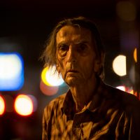 "Harry Dean Stanton in ""Lucky."" (Courtesy Magnolia Pictures)"
