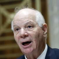 Sen. Ben Cardin, D-Md., speaks during a hearing of the Senate Foreign Relations Committee on the nomination of former Utah Gov. Jon Huntsman to become the U.S. ambassador to Russia, on Capitol Hill, Tuesday, Sept. 19, 2017, in Washington. (Alex Brandon/AP)
