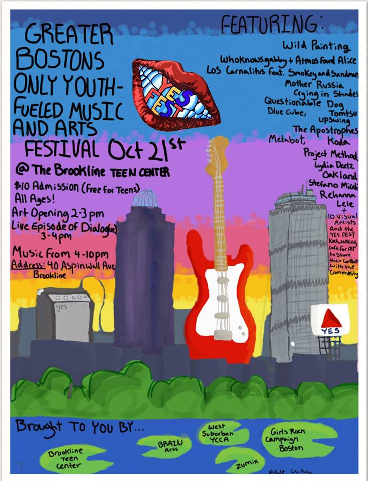the yes fest poster courtesy