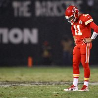 The Kansas City Chiefs were the last undefeated team standing in the NFL before their loss to the Oakland Raiders Thursday night. Mike Pesca argues that parity in the NFL presents a problem. (Ezra Shaw/Getty Images)