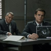"Holt McCallany (left) and Jonathan Groff in a still from ""Mindhunter."" (Patrick Harbron/Netflix)"
