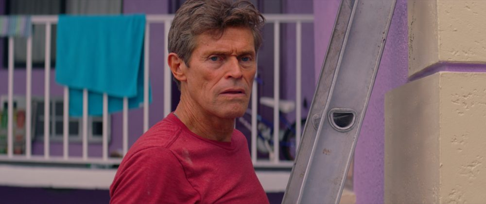 "Willem Dafoe in ""The Florida Project."" (Courtesy A24)"