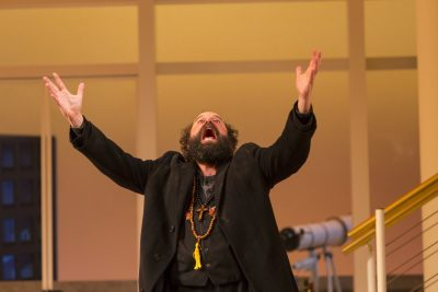 Brett Gelman as the titular Tartuffe. (Courtesy T. Charles Erickson/Huntington Theatre Company)