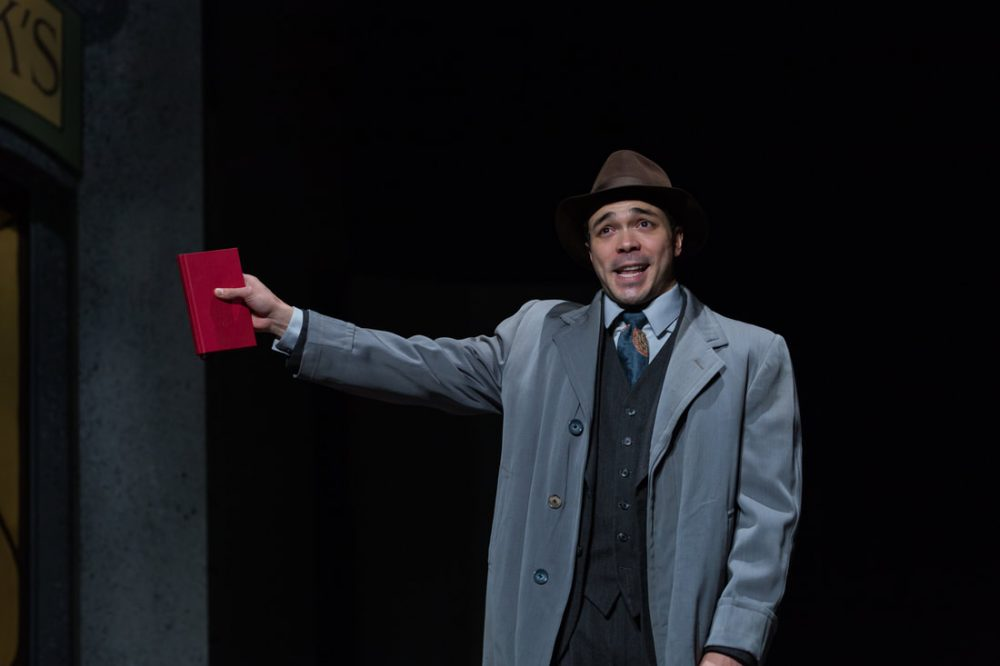 "Sam Simahk as Georg Nowack in ""She Loves Me."" (Courtesy Maggie Hall Photography)"