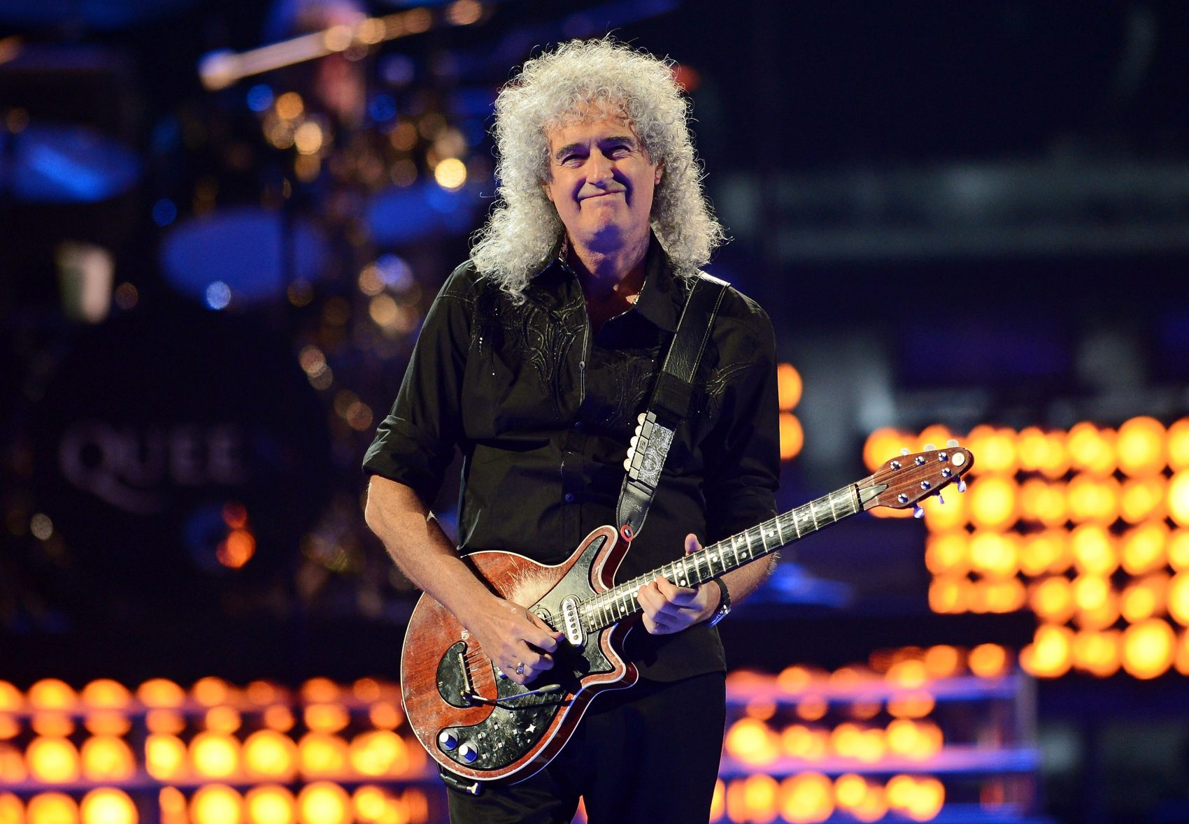 Guitarist Brian May of Queen, pictured here performing in 2013. (Ethan Miller/Getty Images for Clear Channel)