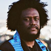 Saxophonist-composer Kamasi Washington. (Courtesy of Jamie James Medina/Sacks & Company)