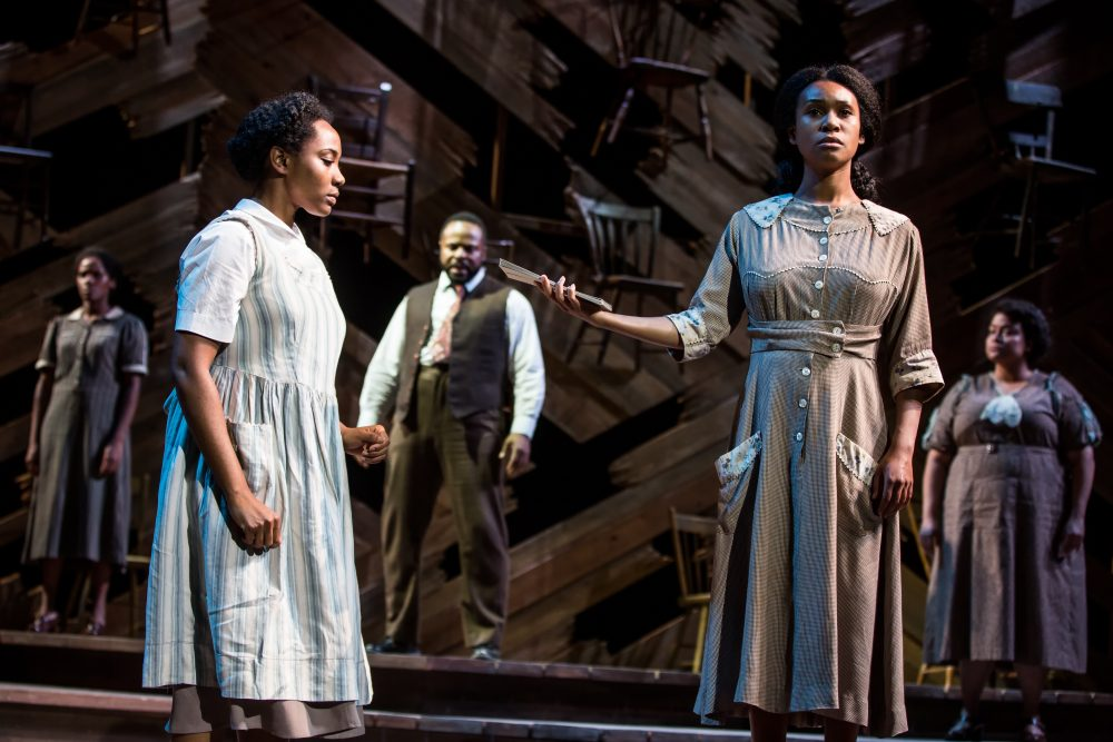 Bianca Horn, Adrianna Hicks, Gavin Gregory, N'Jameh Camara and Angela Birchett. (Courtesy Matthew Murphy/Boch Center)