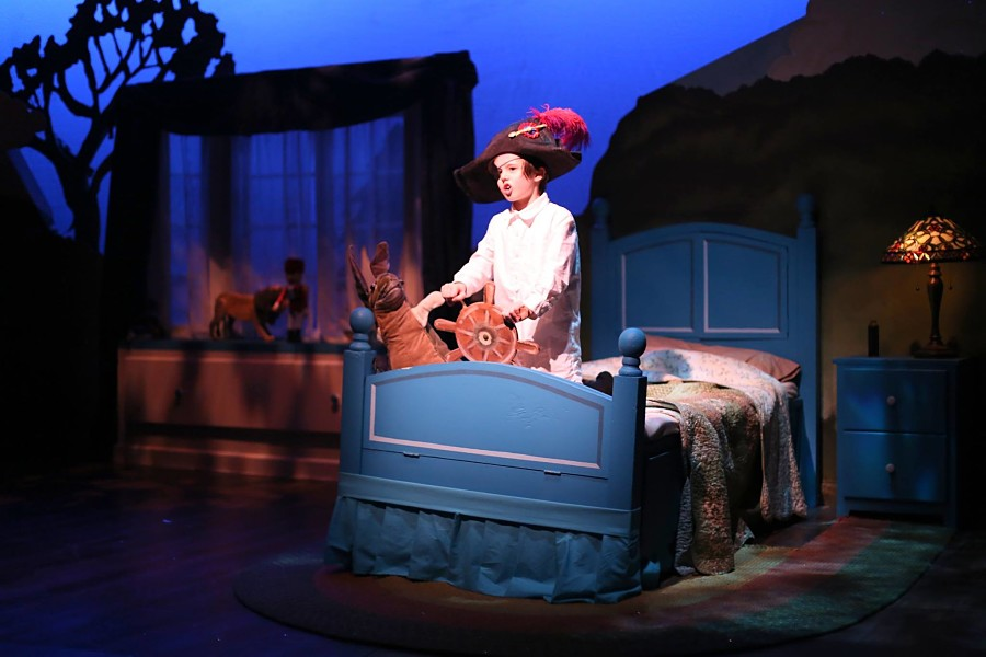 """The Velveteen Rabbit"" at Boston Children's Theatre, 2014. (Courtesy Sublime Photo Art/Boston Children's Theatre)"