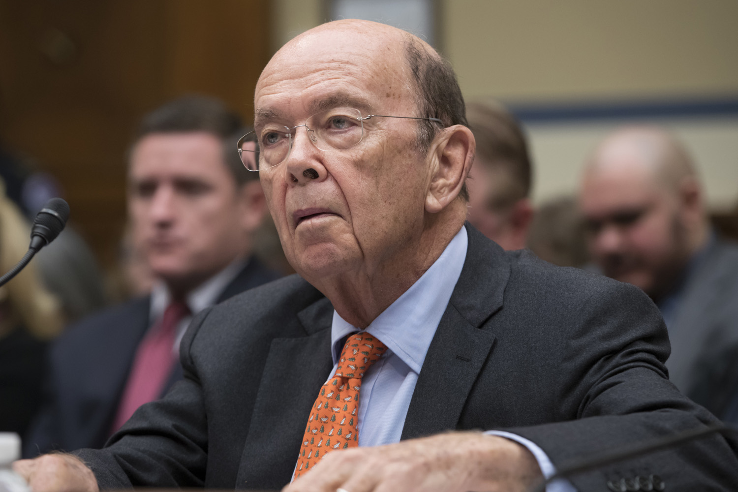 Commerce Secretary Wilbur Ross appears before Congress in October. (J. Scott Applewhite/AP)