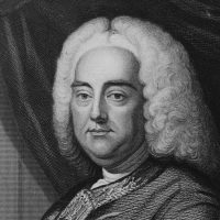 German-born composer George Frederick Handel, circa 1726. (Hulton Archive/Getty Images)
