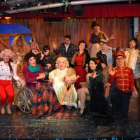 "The cast of ""Whatever Happened To Baby Jesus?"" (Courtesy Michael von Redlich)"
