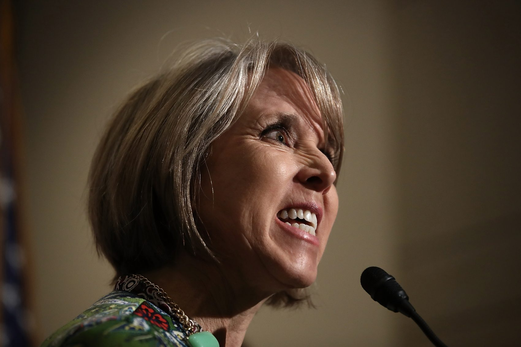 Image for Immigration Talks Like Threading 'Tiny' Needle 'Using A Rope,' Rep. Lujan Grisham Says Article