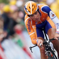 Thomas Dekker, pictured here during a 2007 Tour de France individual time trial, says his doping routine was relatively simple for a while. Self-injection, however, presented a different set of problems. (Joe Klamar/AFP/Getty Images)