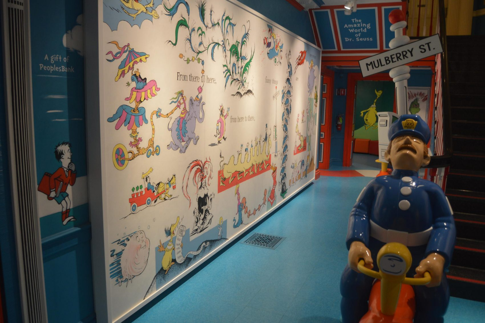Controversial Mural Replaced At Springfield's Dr. Seuss Museum
