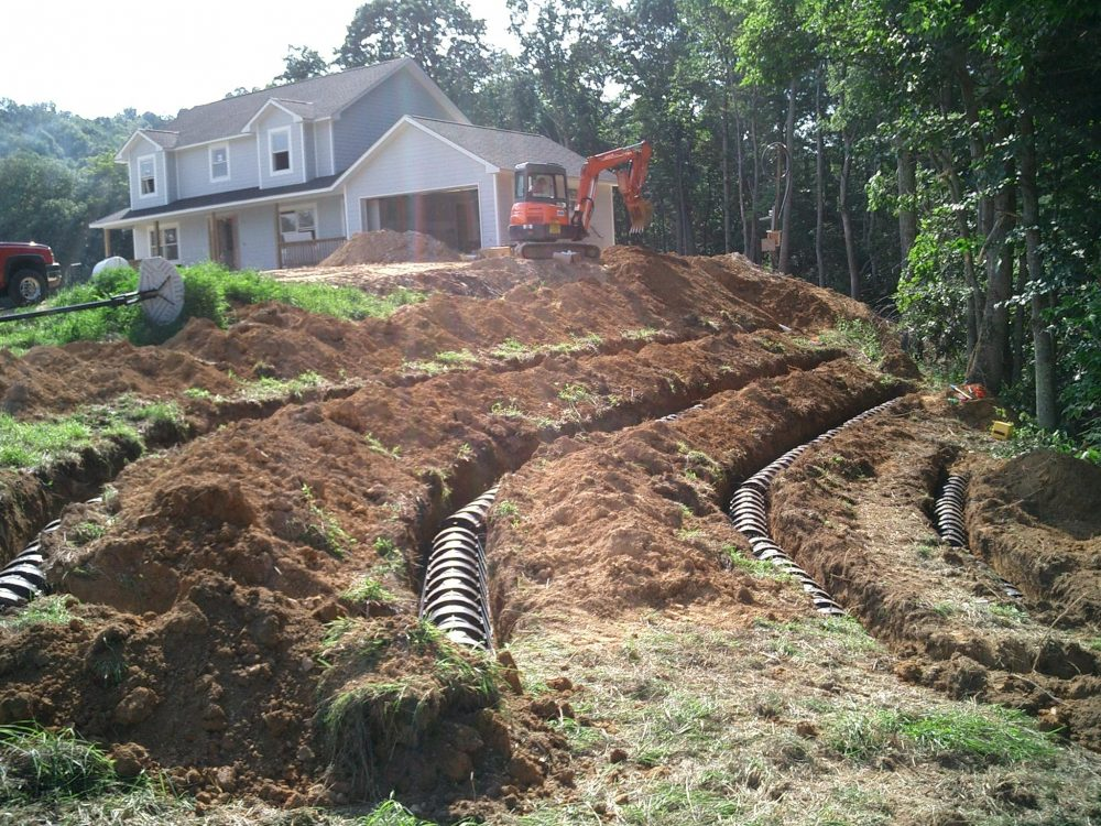 Septic system installation can be a challenge when steep slopes need to be considered. (Soil Science/Flickr)