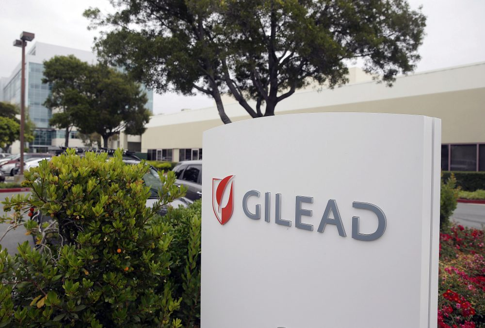 Pharma giant Gilead Sciences snapped up the small company that developed the CAR-T cell treatment Kearney got, paying nearly $12 billion for it. (Eric Risberg/AP)