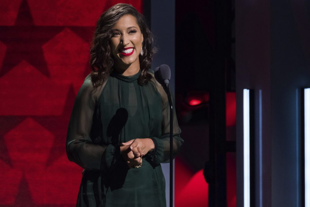 Robin Thede attends the Black Girls Rock! Awards at the New Jersey Performing Arts Center on Saturday, Aug. 5, 2017, in Newark, N.J. (Photo by Charles Sykes/Invision/AP)