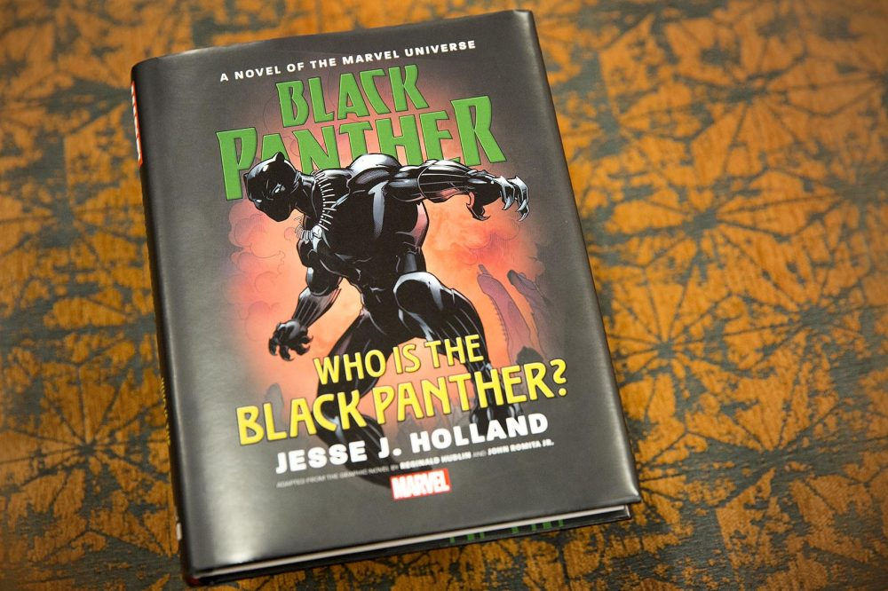 """Who is the Black Panther?"" by Jesse J. Holland. (Robin Lubbock/WBUR)"