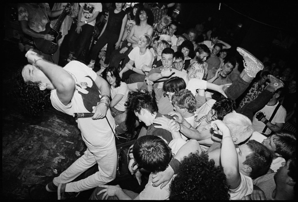 Marginal Man during a show at The Rat in the late '80s. (Courtesy JJ Gonson)