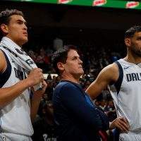 A Sports Illustrated investigation revealed details about about a corporate culture of misogyny and harassment within the Dallas Mavericks organization. (Kevin C. Cox/Getty Images)