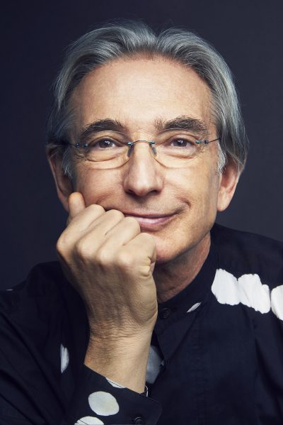 Conductor Michael Tilson Thomas. (Courtesy Spencer Lowell)