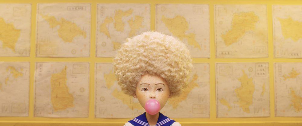 "Greta Gerwig voices Tracy Walker in Wes Anderson's ""Isle of Dogs."" (Courtesy Fox Searchlight Pictures)"