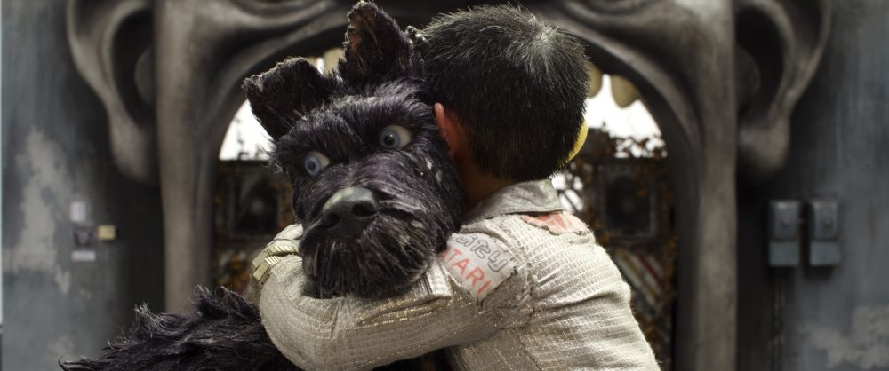 "Bryan Cranston voices the dog Chief and Koyu Rankin voices Atari Kobayashi in Wes Anderson's ""Isle of Dogs."" (Courtesy Fox Searchlight Pictures)"