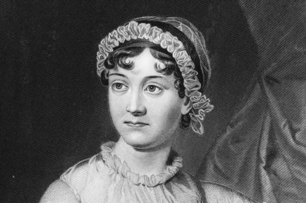 English novelist Jane Austen. (Hulton Archive/Getty Images)