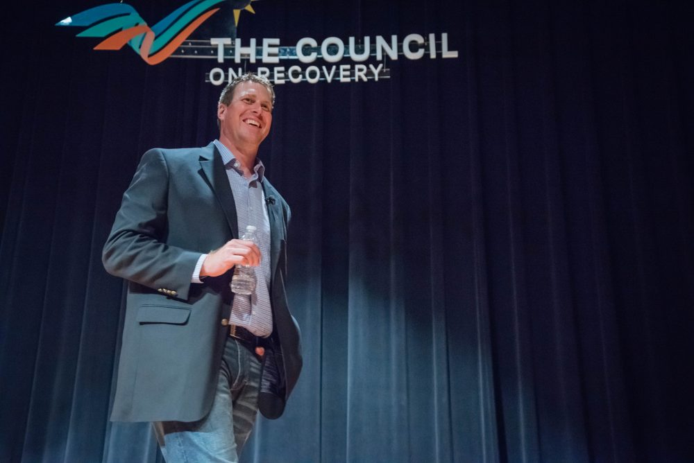 Ryan Leaf travels the country to help people struggling with substance abuse and mental health issues. (Courtesy of Transcend Recovery Community)