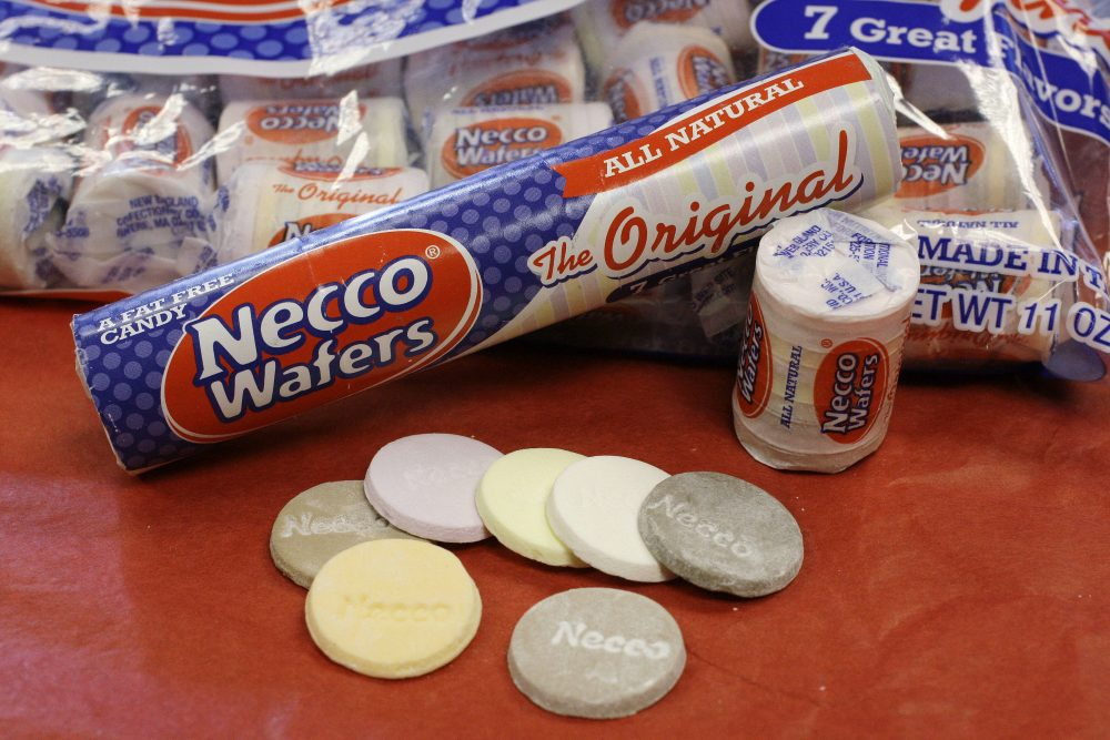Necco Wafers are displayed in Boston in 2009. (Charles Krupa/AP)