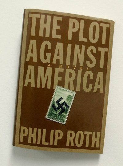 "In his 2004 book, ""The Plot Against America,"" novelist Philip Roth imagines an America where aviator Charles Lindbergh wins the Republican nomination for president and beats Franklin Delano Roosevelt in 1940. (AP)"