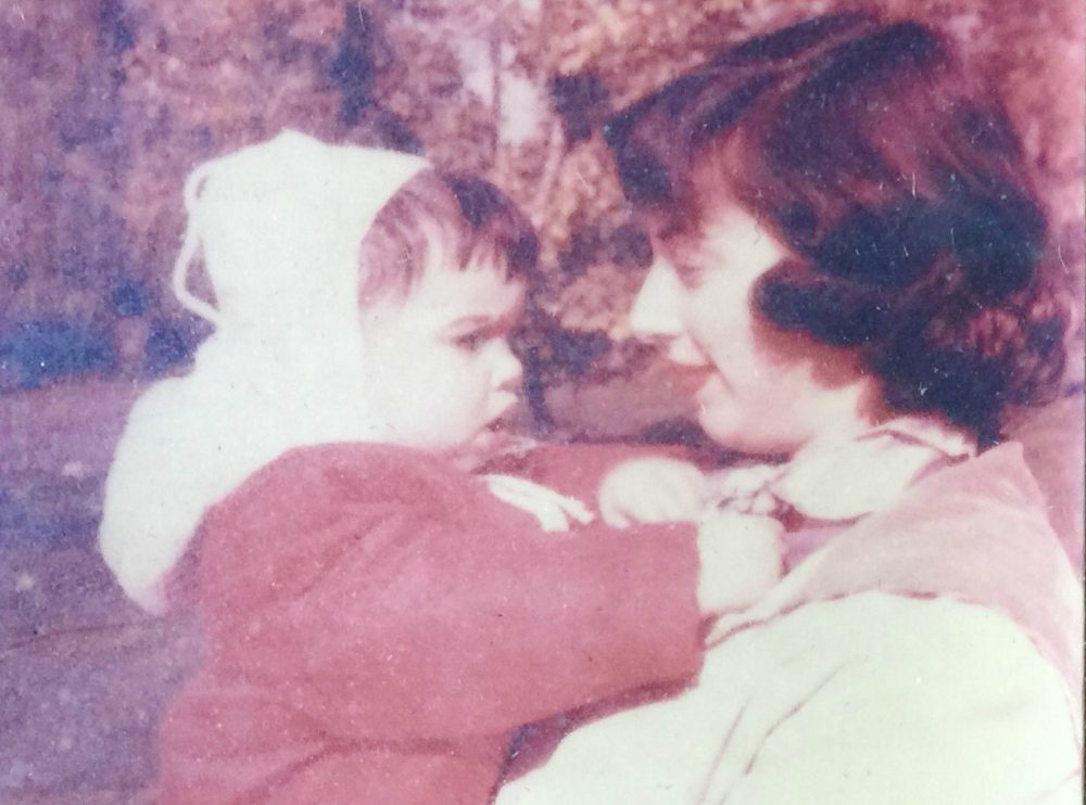 The author with her mother. (Courtesy)