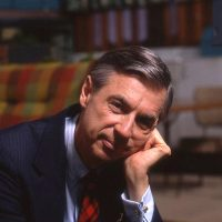 "Fred Rogers on the set of his show, ""Mister Rogers Neighborhood."" (Courtesy Jim Judkis/Focus Features)"